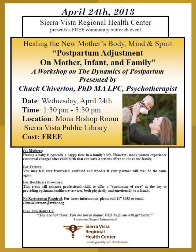 Sierra Vista Regional Health Center Dr Chiverton talk