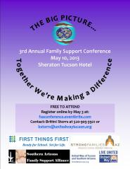 2013 Family Support Conference Flyer