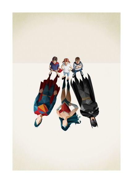 Superhero image