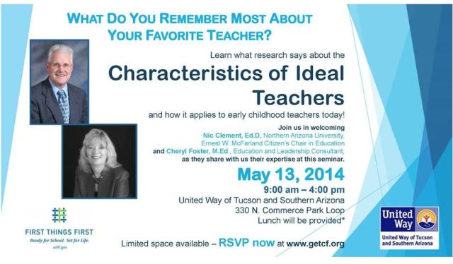 Charcteristics of Ideal Teachers