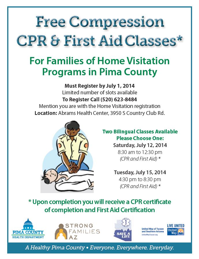 Free Cpr First Aid Classes For Home Visitation Families Family