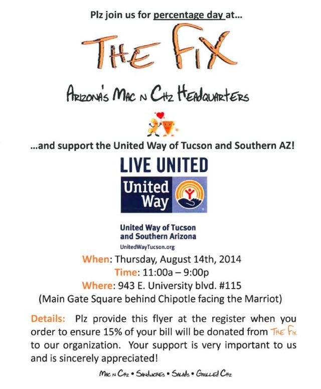 the fix flyer