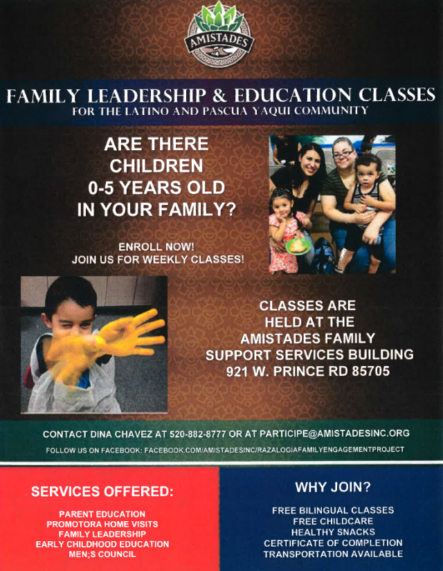 Amistades family leadership