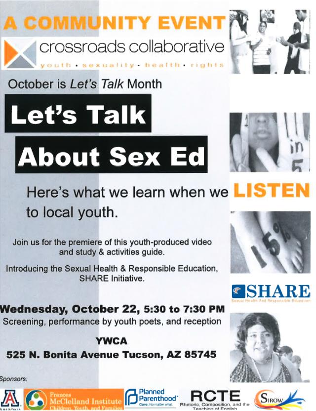 lets talk about sex ed