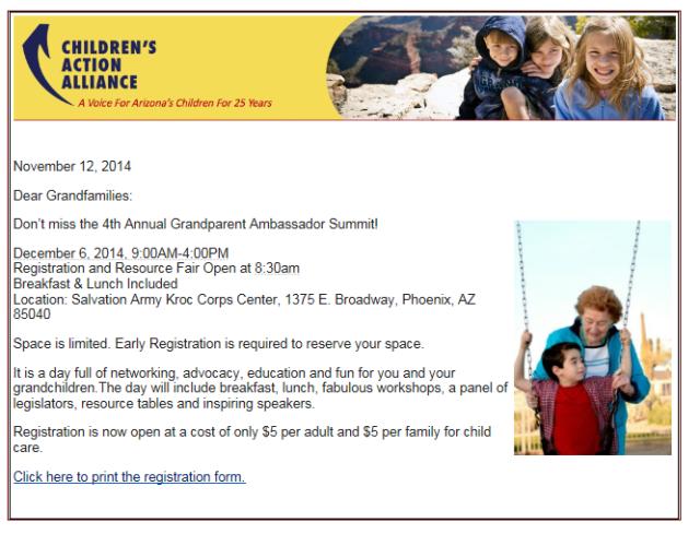 grandparents event