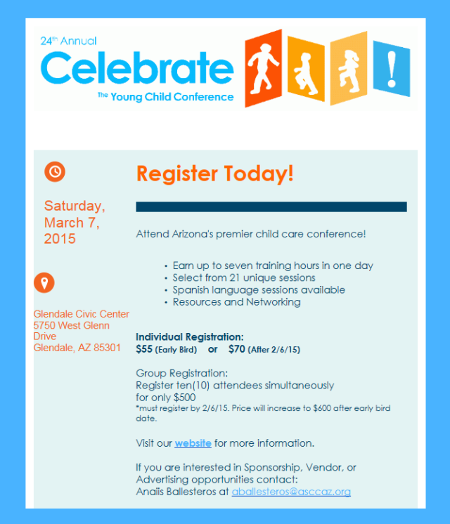 celebrate young children conference
