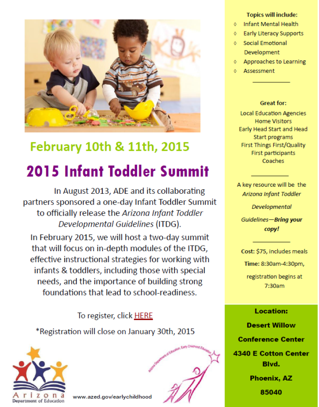 Infant Toddler Summit