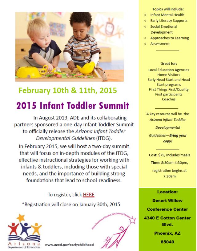 Infant Toddler Summit