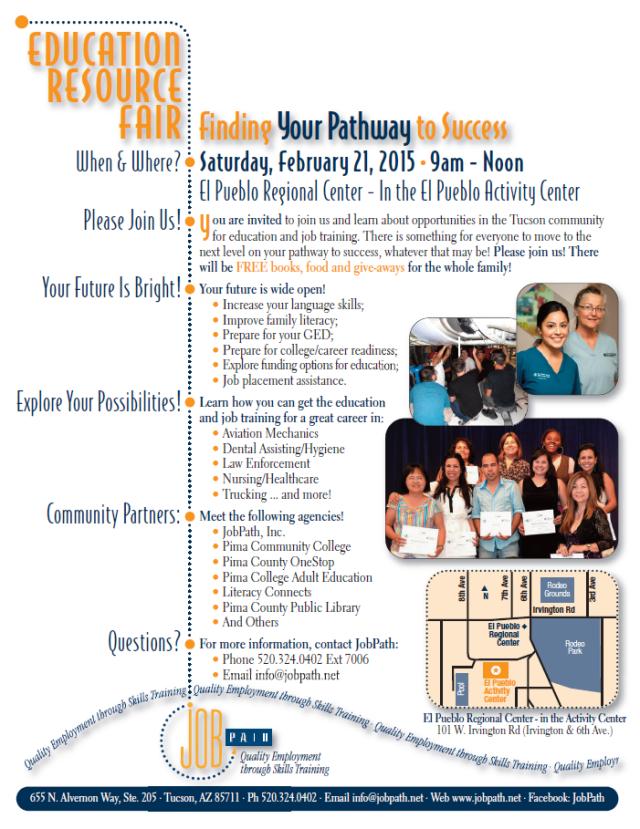 job path education fair