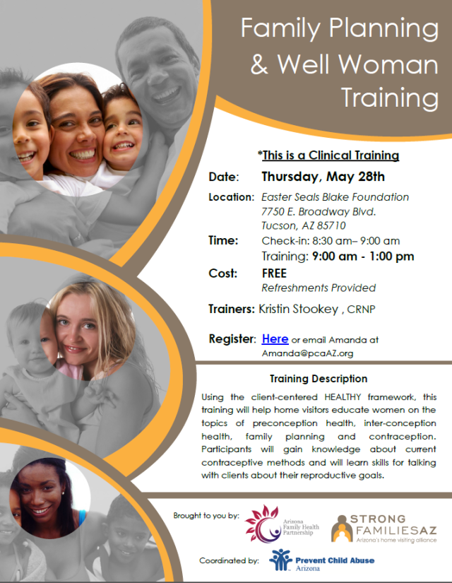 Well Woman Training, clinical