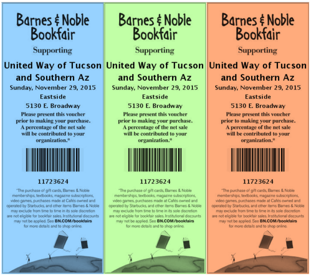 Barnes & Noble Vouchers