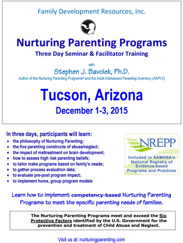 Nurturing Parenting Flyer