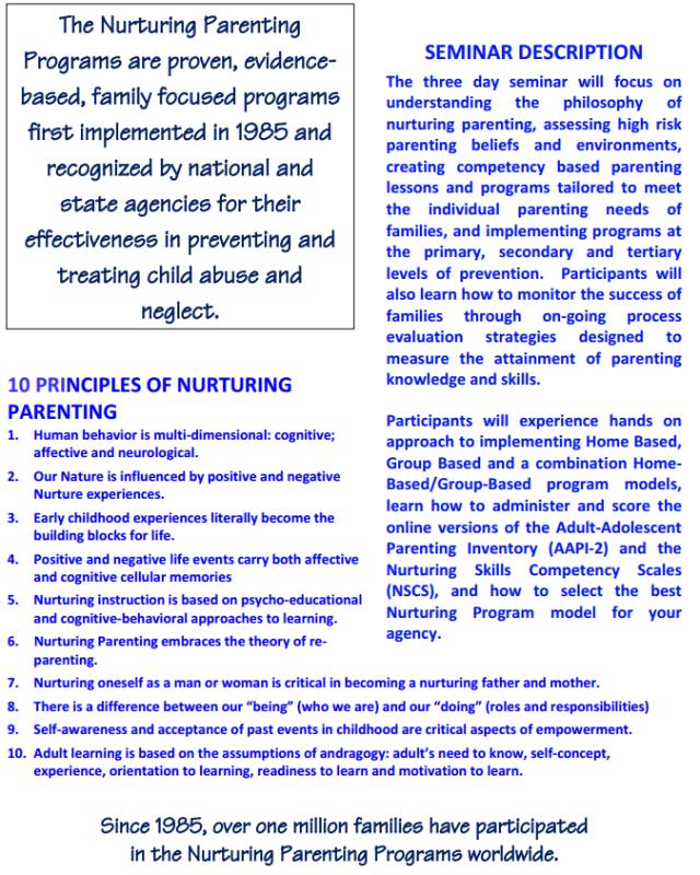 Nurturing Parenting Flyer2