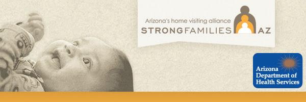 Strong Families AZ logo