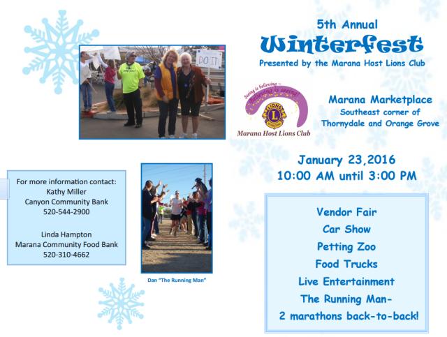 Winterfest flyer, page 1