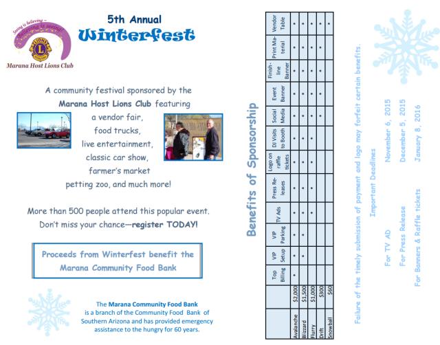 Winterfest flyer, page 2