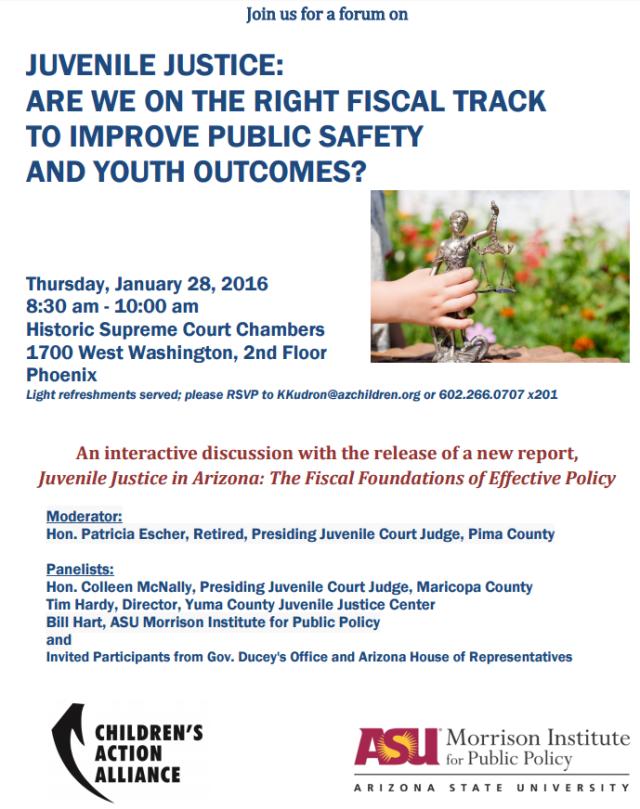 Juvenile Justice forum