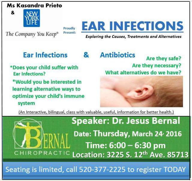 ear infections flyer